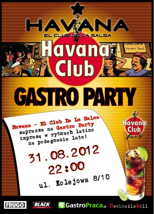 Ulotka Gastro Party
